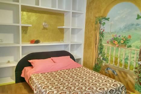 Сдается 1-комнатная квартира посуточно в Алматы, проспект Достык, .Чайкиной 3а.