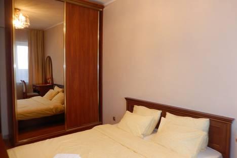 Сдается 2-комнатная квартира посуточно, С видом на музей янтаря в новом доме на 9 Апреля.