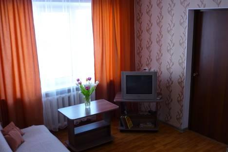 Сдается 2-комнатная квартира посуточнов Чайковском, улица Ленина д.29.