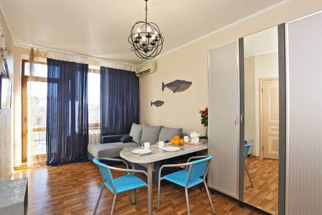 Сдается 2-комнатная квартира посуточнов Приморском, 34 Суворовская улица.
