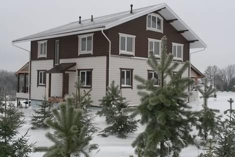 Сдается коттедж посуточно в Рыбинске, Рыбинский район, деревня Демино, дом 50.