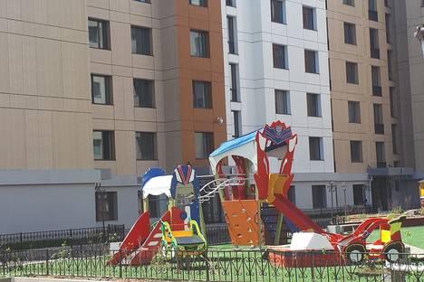 Сдается 2-комнатная квартира посуточно в Астане, Кабанбай батыр 58/а.