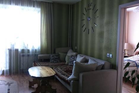 Сдается 2-комнатная квартира посуточно в Челябинске, улица Хариса Юсупова, 72.