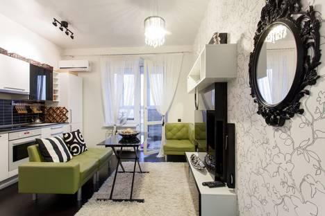 Сдается 1-комнатная квартира посуточнов Берёзовском, улица Папанина, 18.