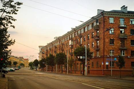 Сдается 3-комнатная квартира посуточно в Минске, улица Козлова 9.