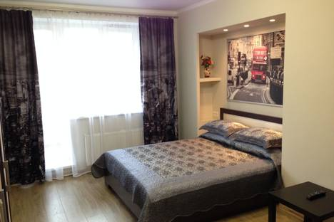 Сдается 1-комнатная квартира посуточно в Челябинске, ул. 40-летия Победы, 9.