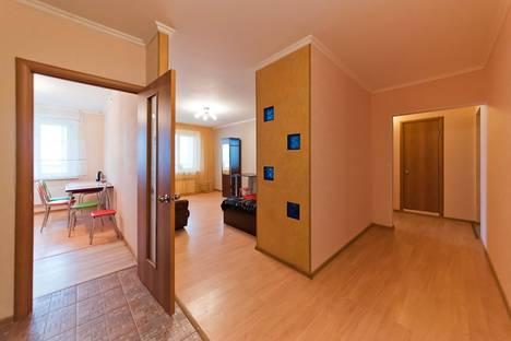 Сдается 3-комнатная квартира посуточнов Томске, проспект Ленина, 261.