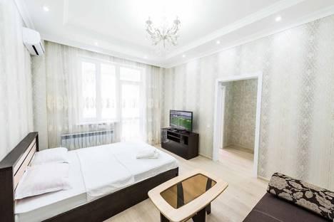 Сдается 1-комнатная квартира посуточно в Астане, Кабанбай батыра 58а.