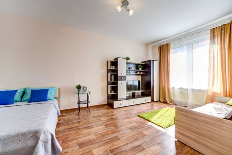 Сдается 1-комнатная квартира посуточно в Санкт-Петербурге, Южное шоссе д. 53 корп 4.