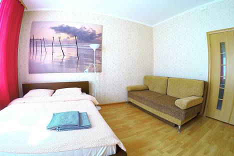 Сдается 1-комнатная квартира посуточнов Железнодорожном, улица Маяковского, 42.