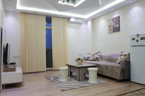 Сдается 2-комнатная квартира посуточнов Кобулети, Батуми. Шериф Химшиашвили 15. Орби.