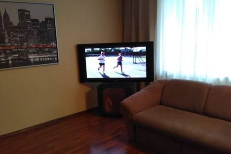 Сдается 1-комнатная квартира посуточно в Уфе, улица Менделеева, 122/1.