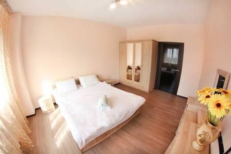 Сдается 2-комнатная квартира посуточно в Алматы, улица Навои, 208/2.