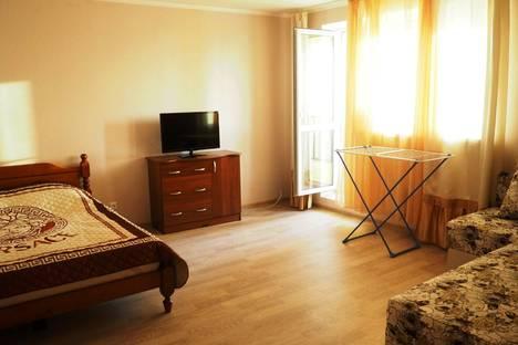 Сдается 1-комнатная квартира посуточнов Пушкино, улица Добролюбова, 32А,Россия.