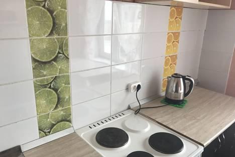 Сдается 2-комнатная квартира посуточно в Барнауле, улица Чкалова, 57.