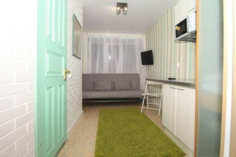 Сдается 1-комнатная квартира посуточно в Уфе, проспект Октября, 6/3.