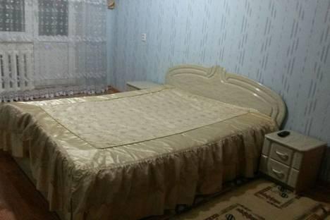 Сдается 1-комнатная квартира посуточно в Актобе, 11мкр ул.маметова 114.
