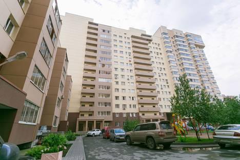 Сдается 2-комнатная квартира посуточно в Новосибирске, ул. Галущака, 17.