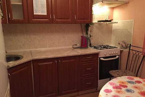 Сдается 1-комнатная квартира посуточнов Новом Уренгое, улица Мирный микрорайон, 5 корпус 1.