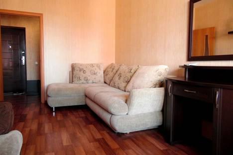 Сдается 1-комнатная квартира посуточно в Новосибирске, улица Галущака, 4.