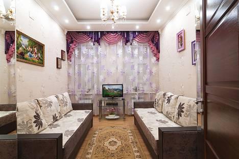 Сдается 1-комнатная квартира посуточнов Кисловодске, улица Гагарина, 10.