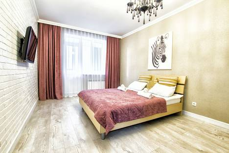 Сдается 1-комнатная квартира посуточно в Астане, улица Алматы, 11.