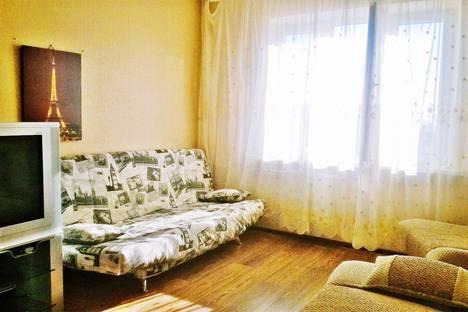 Сдается 1-комнатная квартира посуточно в Краснодаре, улица Академика Лукьяненко, 12.