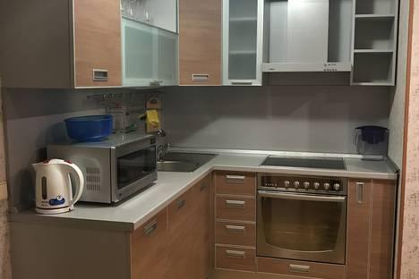 Сдается 1-комнатная квартира посуточно в Южно-Сахалинске, проспект Мира, 43.