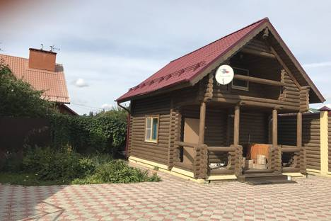 Сдается коттедж посуточнов Домодедове, 3-ий Богородский переулок, дом 3.