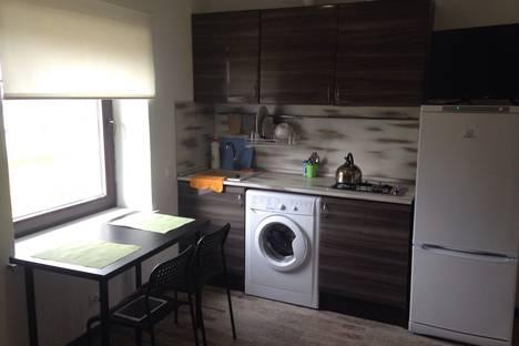 Сдается 1-комнатная квартира посуточно в Одинцове, Акулово, Центральная улица, 35.