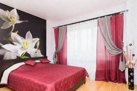 Сдается 1-комнатная квартира посуточнов Ленинске-Кузнецком, Юбилейная улица, 5.