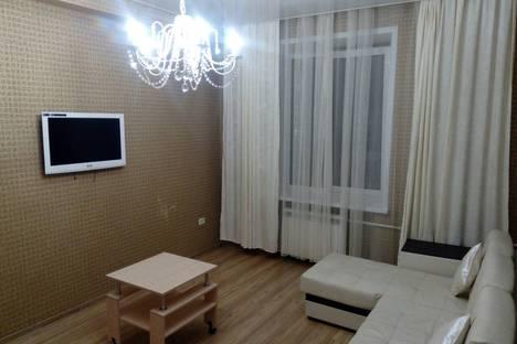 Сдается 2-комнатная квартира посуточно в Новокузнецке, проспект Металлургов 45.