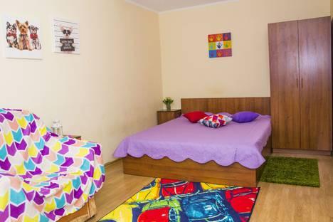 Сдается 1-комнатная квартира посуточно в Омске, Иртышская Набережная улица, 28.