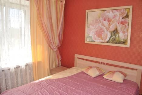 Сдается 2-комнатная квартира посуточно в Томске, Красноармейская улица 135.