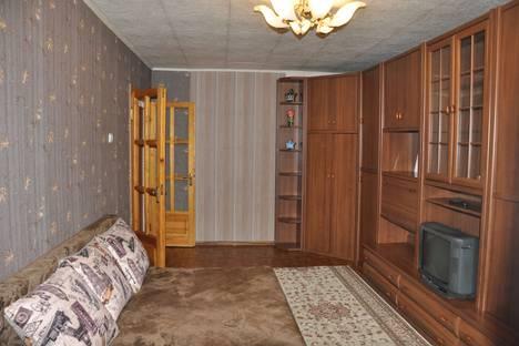 Сдается 1-комнатная квартира посуточно в Алматы, улица Пушкина, 23.