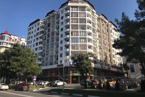 Сдается 1-комнатная квартира посуточнов Геленджике, улица Луначарского, 114.