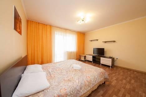 Сдается 1-комнатная квартира посуточнов Красноярске, улица Авиаторов, 64.