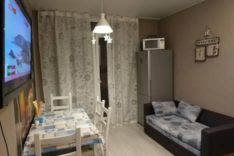 Сдается 1-комнатная квартира посуточнов Юбилейном, Путевой проезд, 38.