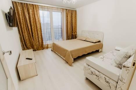 Сдается 1-комнатная квартира посуточнов Тюмени, улица 50 Лет Октября, 57а.