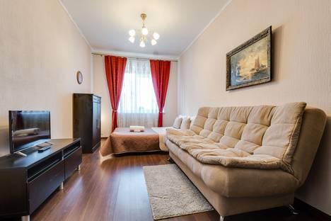 Сдается 1-комнатная квартира посуточнов Санкт-Петербурге, Коломяжский 15 корпус 1.