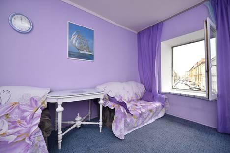 Сдается 1-комнатная квартира посуточнов Санкт-Петербурге, Казанская улица, 20.