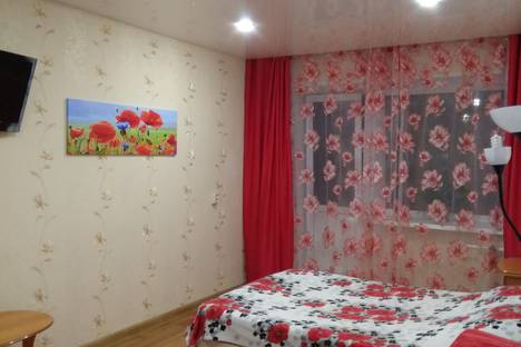 Сдается 1-комнатная квартира посуточно, улица Полбина, 46.