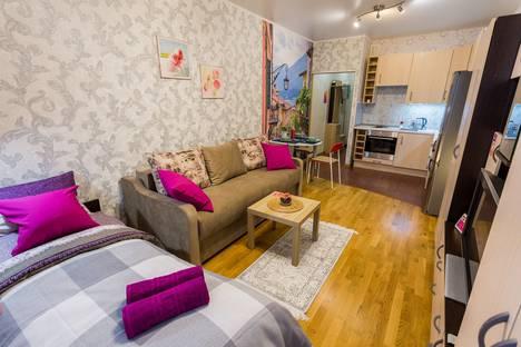 Сдается 1-комнатная квартира посуточно в Санкт-Петербурге, проспект Королева, 7.