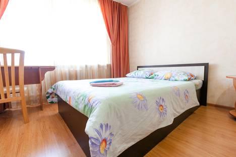 Сдается 1-комнатная квартира посуточно в Барнауле, проспект Красноармейский, 69Б.