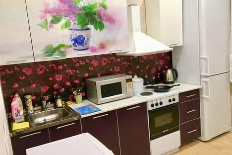 Сдается 1-комнатная квартира посуточно в Хабаровске, улица Демьяна Бедного, 21.