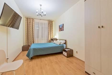 Сдается 1-комнатная квартира посуточно в Санкт-Петербурге, Коломяжский проспект, 15 корпус 1.