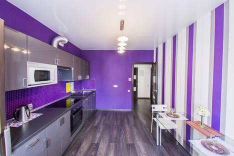 Сдается 1-комнатная квартира посуточнов Уфе, улица Мингажева, 140.