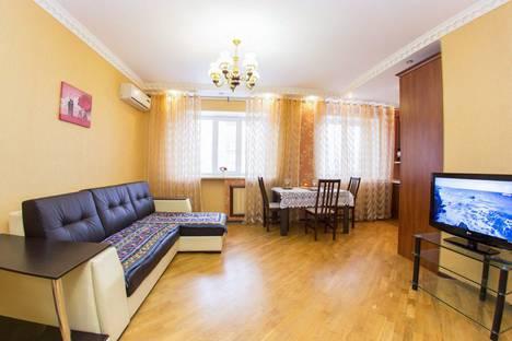 Сдается 2-комнатная квартира посуточнов Уфе, улица Цюрупы, 145/1.