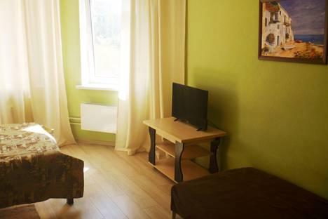 Сдается 1-комнатная квартира посуточно в Пушкино, микрорайон Серебрянка, 46.