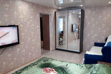 Сдается 1-комнатная квартира посуточно в Хабаровске, улица Павловича 5.